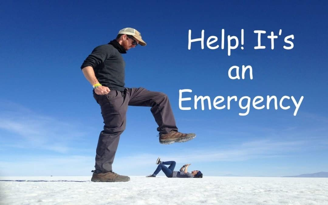Help! It is an Emergency